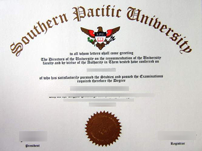 Purchase a fake Southern Pacific University degree quickly.快速购买一个假的南太平洋大学学位。